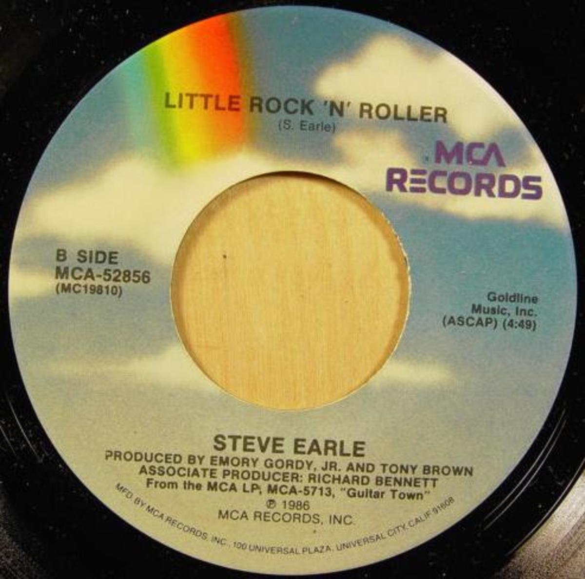 Goldmine Steve Earle