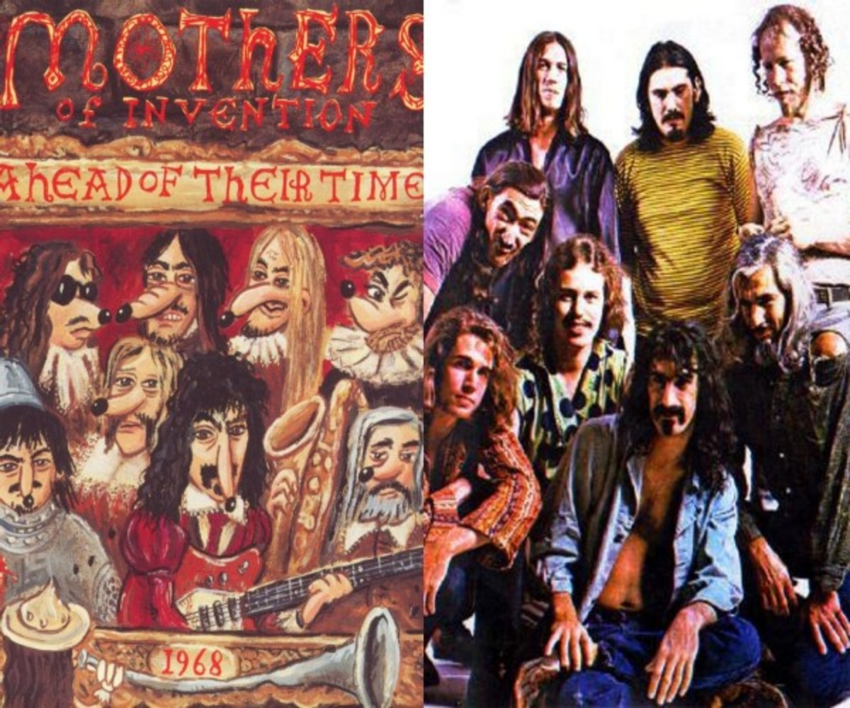 Mothers Of Invention Collage