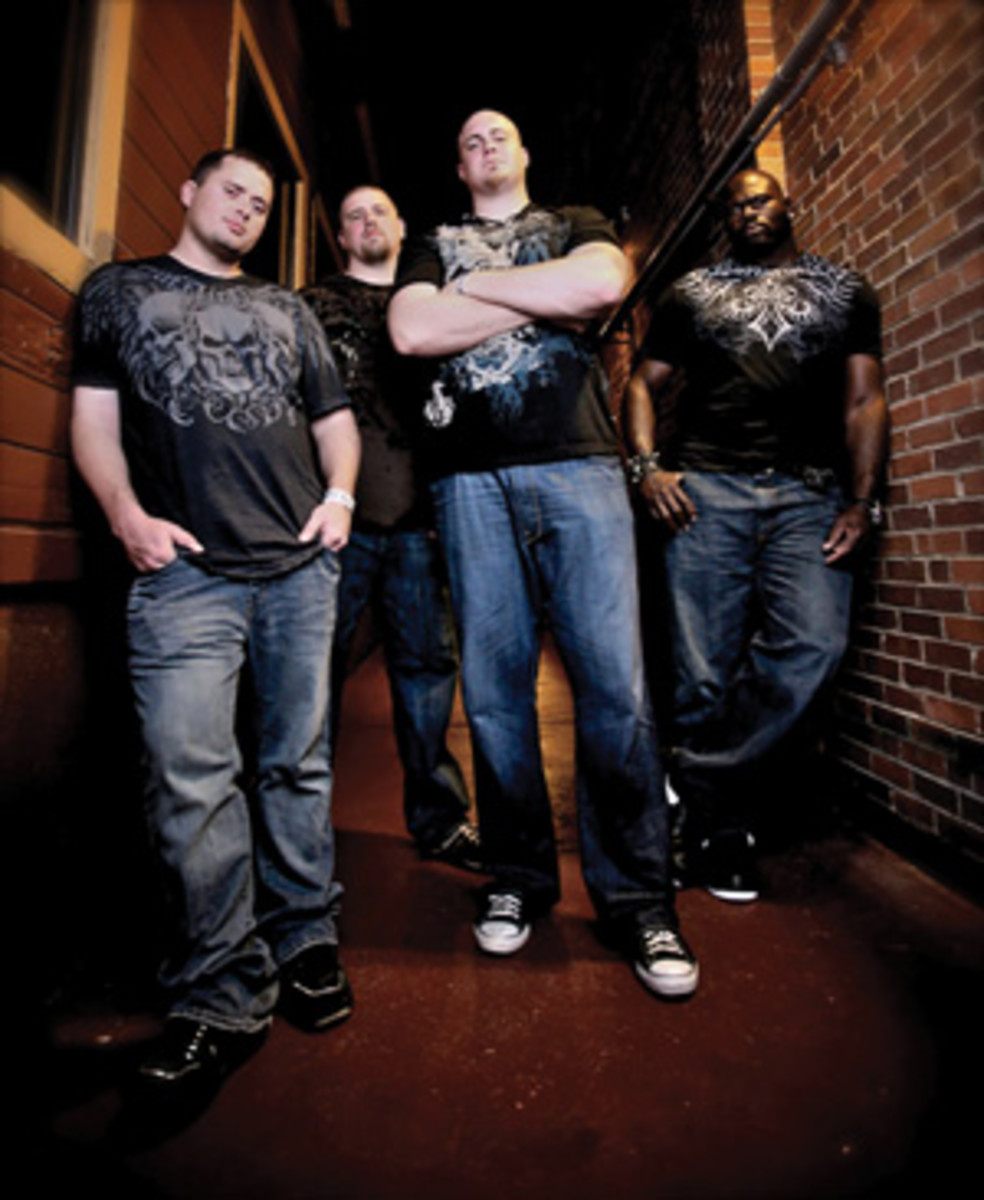 Free Reigners (left to right) Justin Chapman, Cory Procter, Marc Columbo and Leornard Davis.