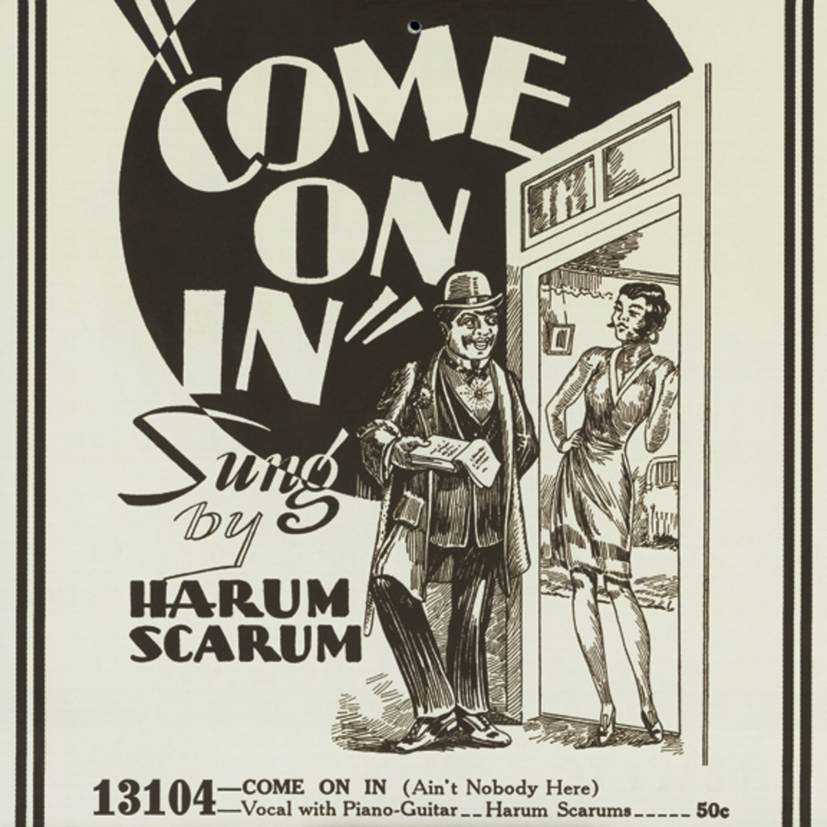 Harum Scarum Come on In advertisement