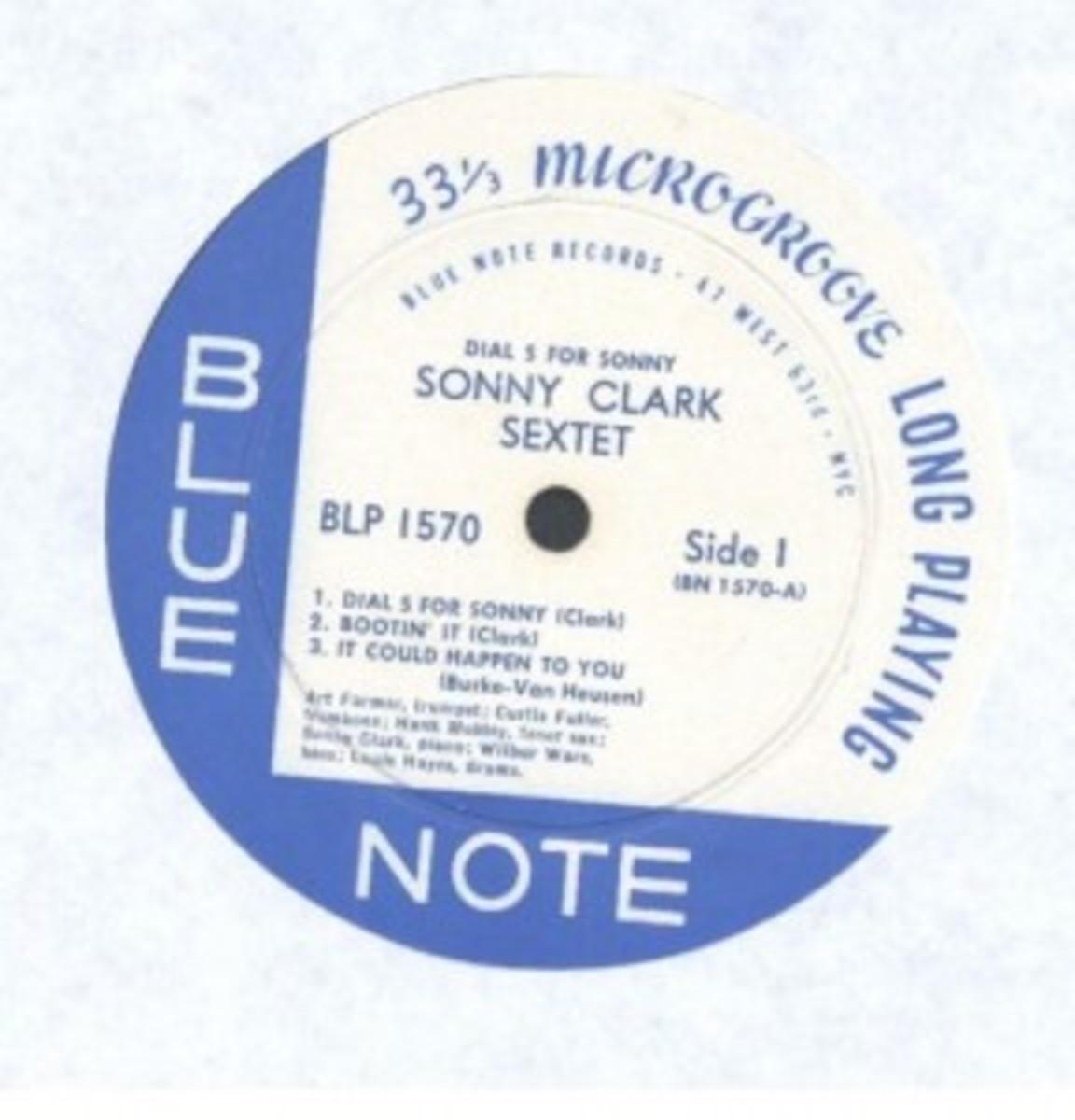 Sonny Clark Sextet Blue Note
