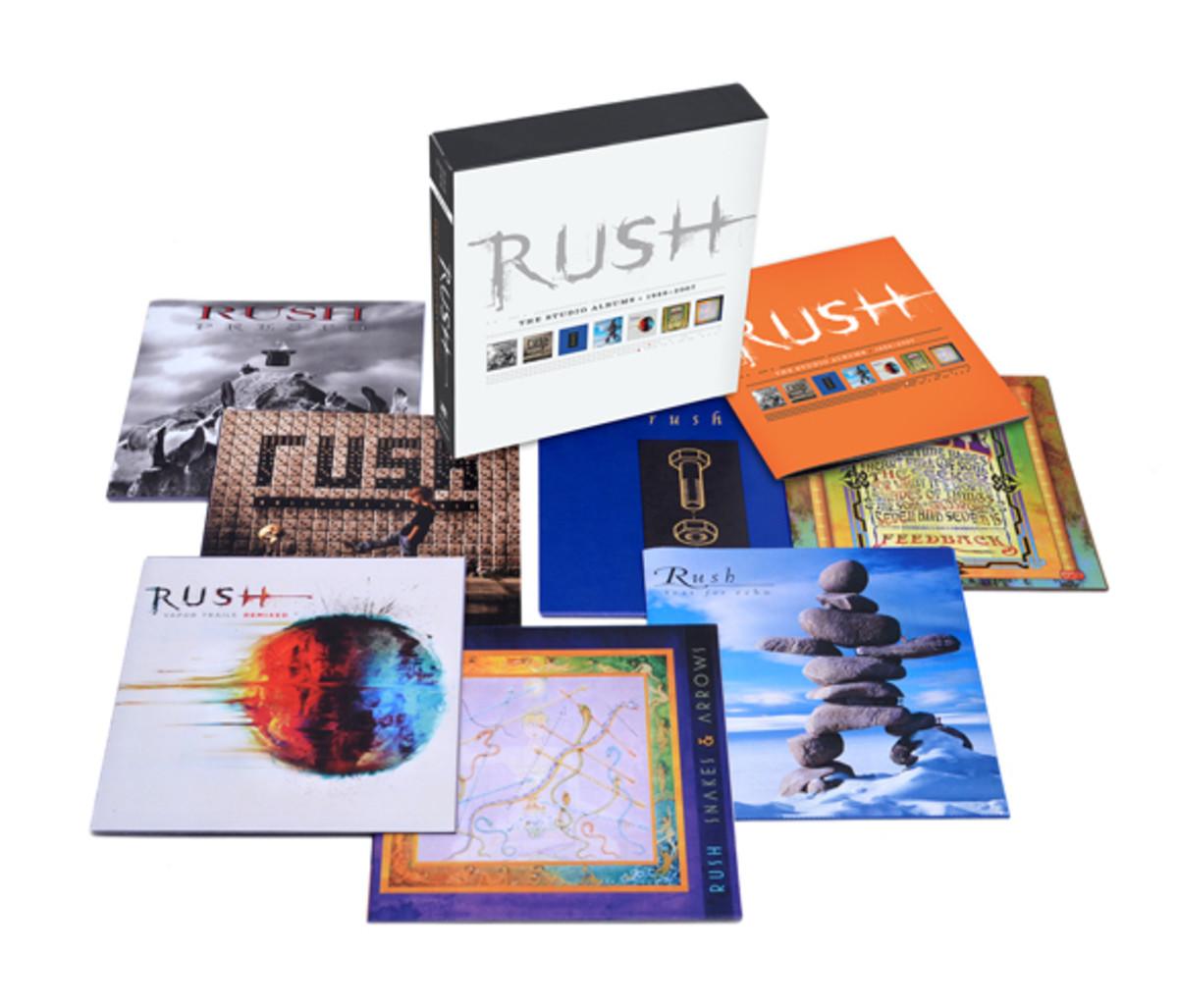 Rush studio albums box set