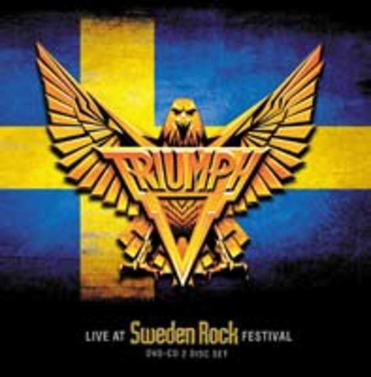 Triumph Live at Sweden Rock Festival