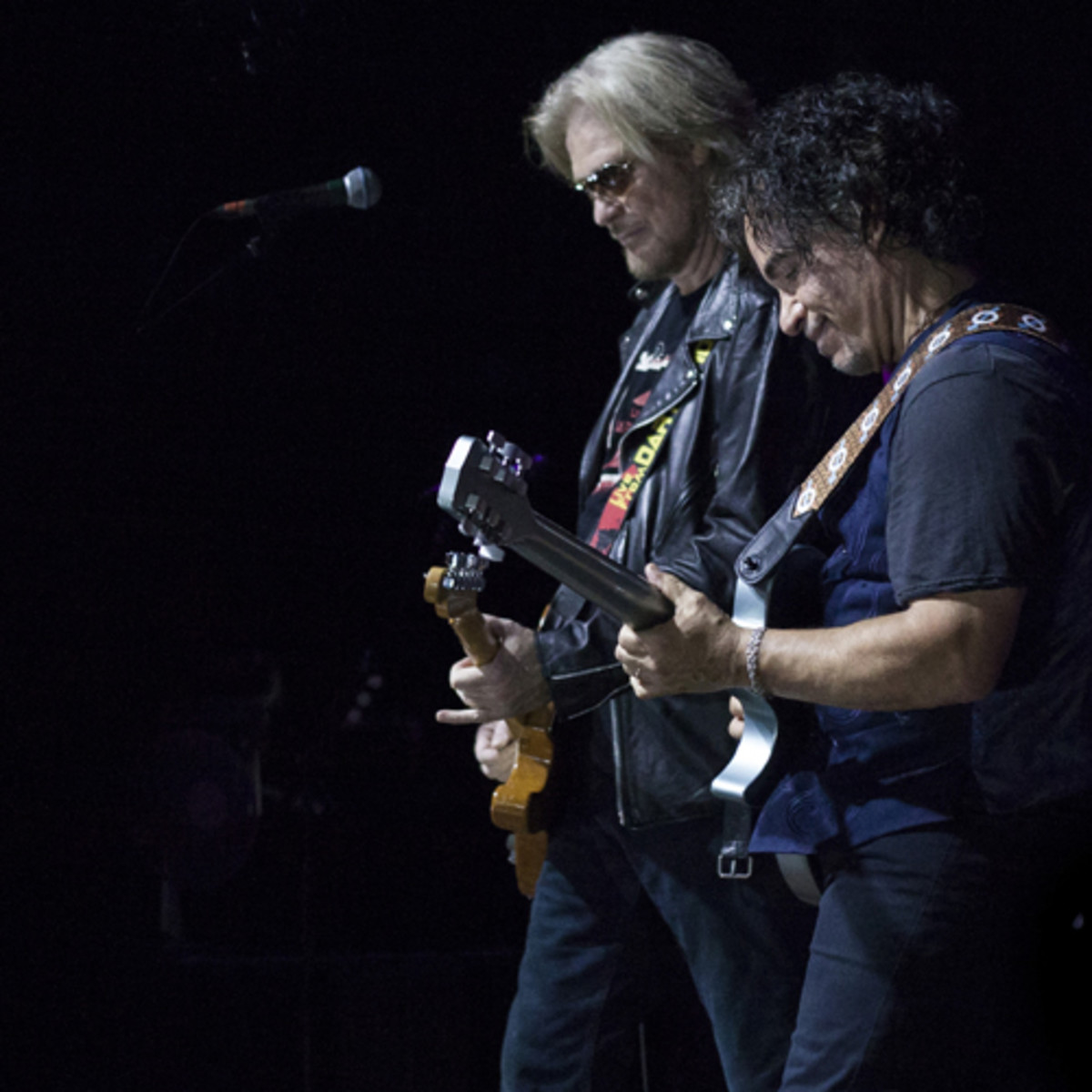 Daryl Hall & John Oates playing their sold out show at the Olympia Theatre on Tuesday, 15 July 2014.