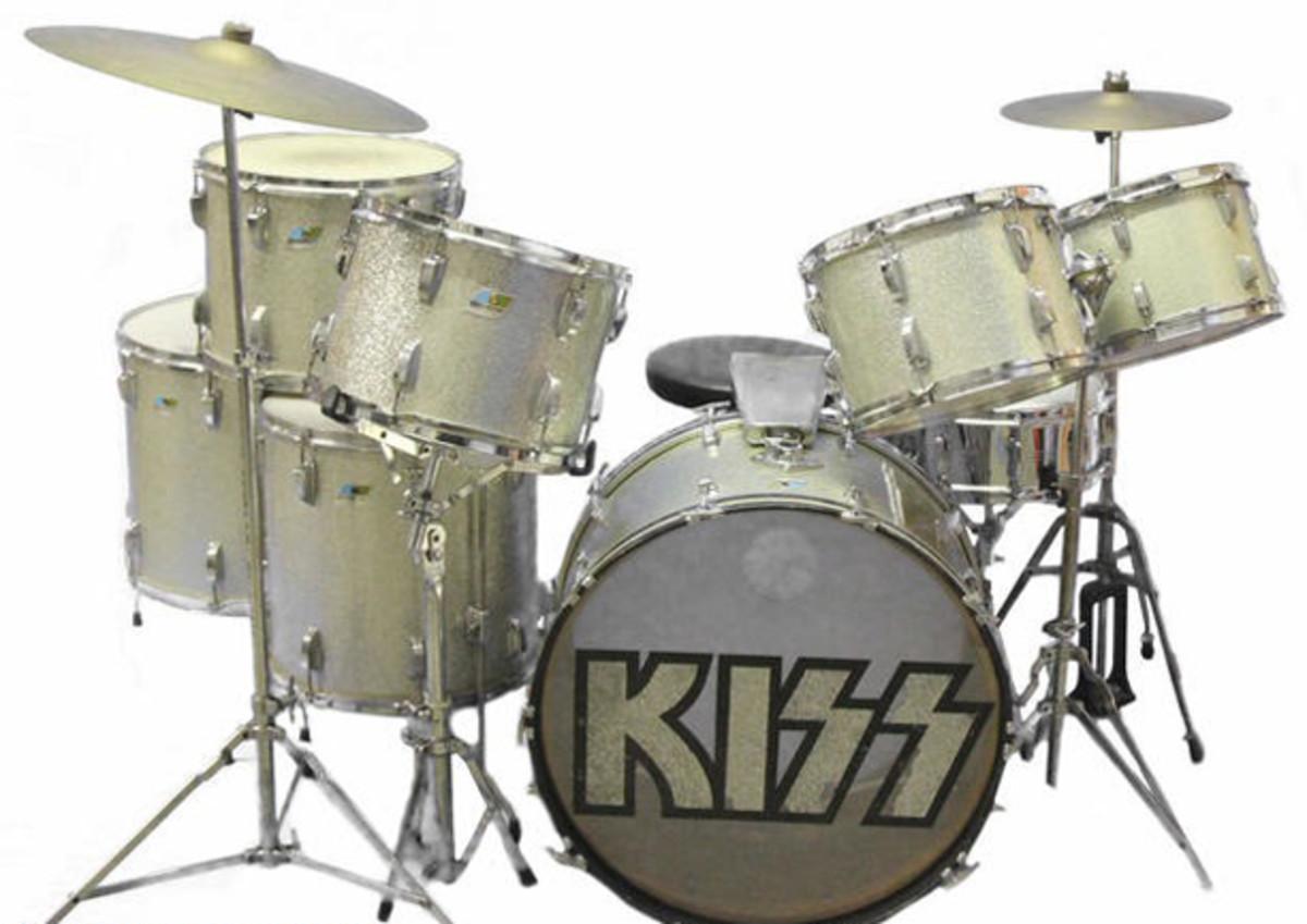 Pete Criss Drum Kit for sale