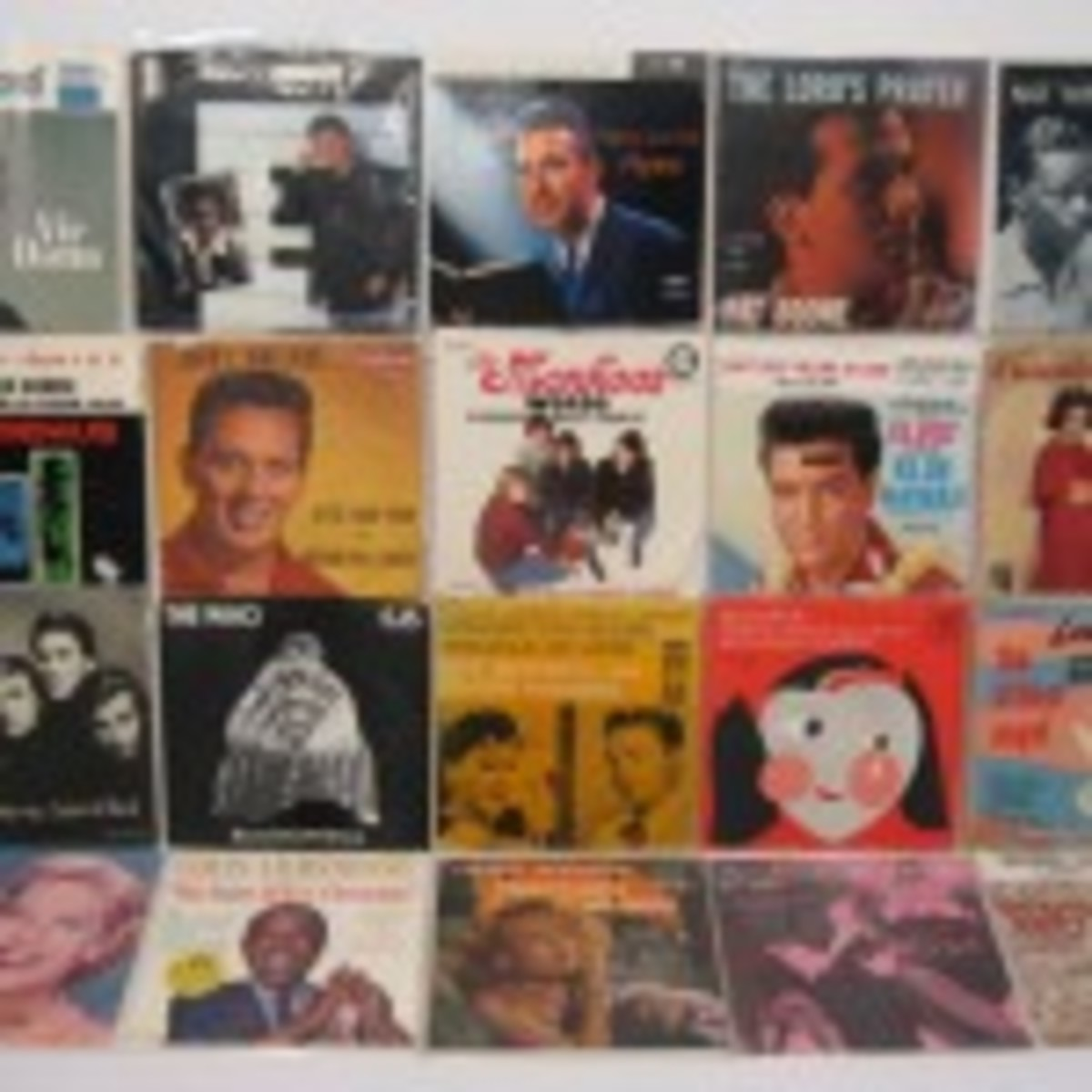 Various 45 RPM records