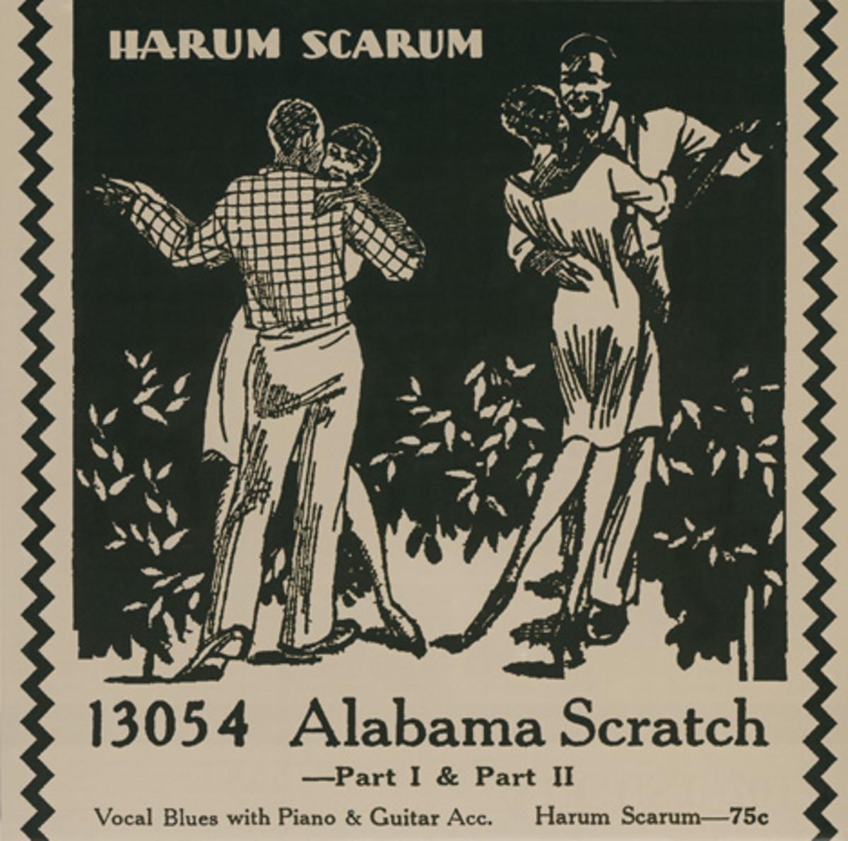 Harum Scarum Alabama Scratch