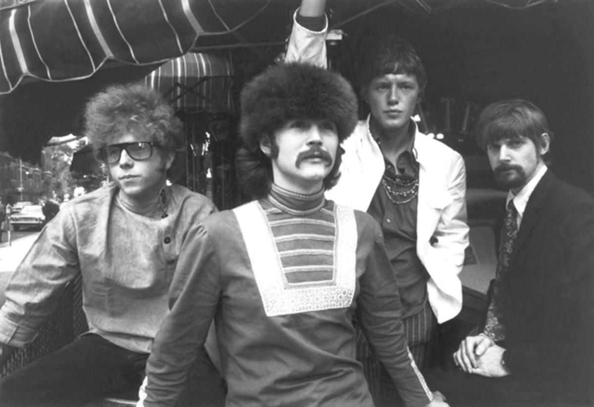 The Byrds 1967 Roger McGuinn, Chris Hillman, David Crosby, Michael Clarke