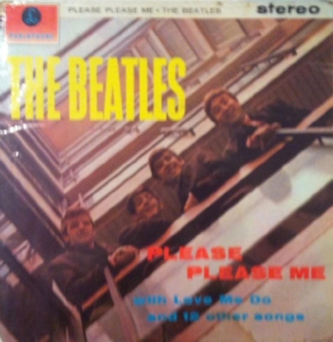 The-Beatles-Please-Please-Me-vintage-vinyl-record