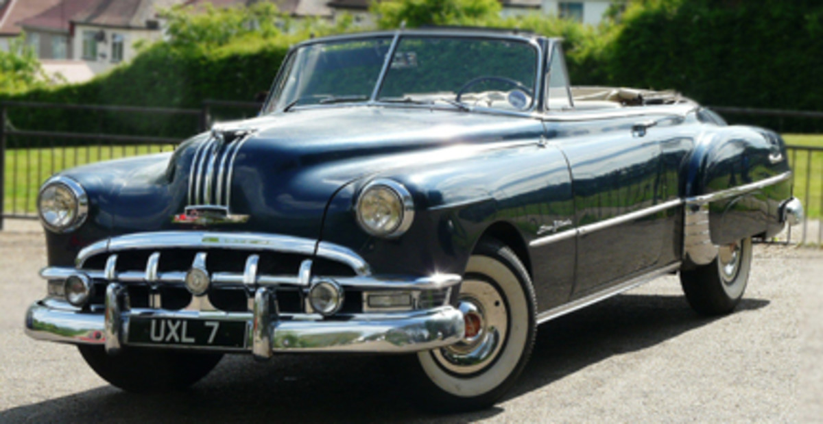 Rolling Stone Keith Richards 1950 Pontiac Silver Streak convertible