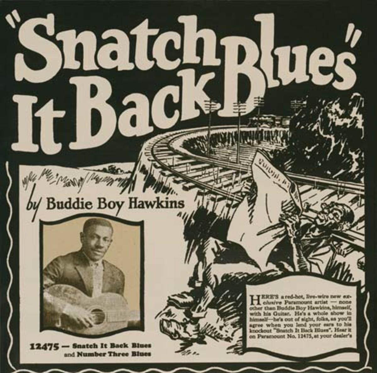 Walter Buddy Boy Hawkins Snatch It Back Blues
