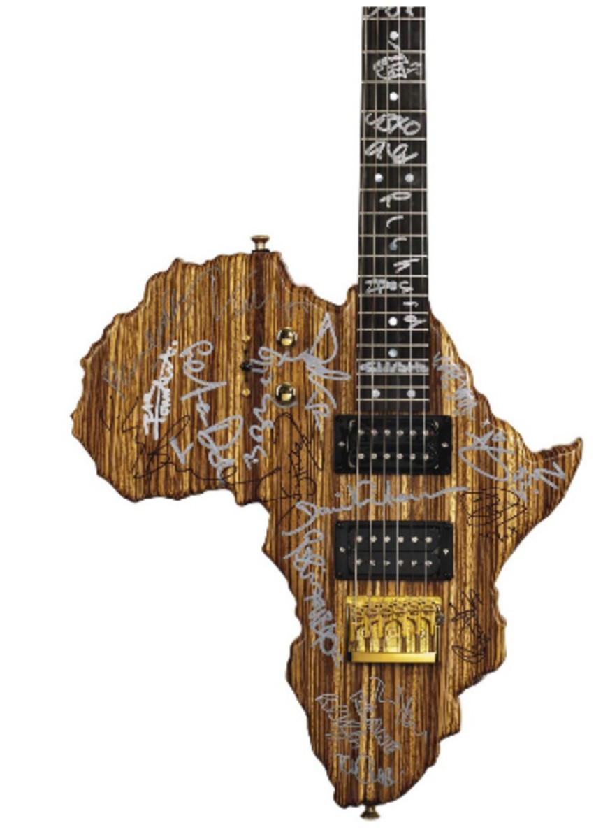 Live 8 Africa Guitar