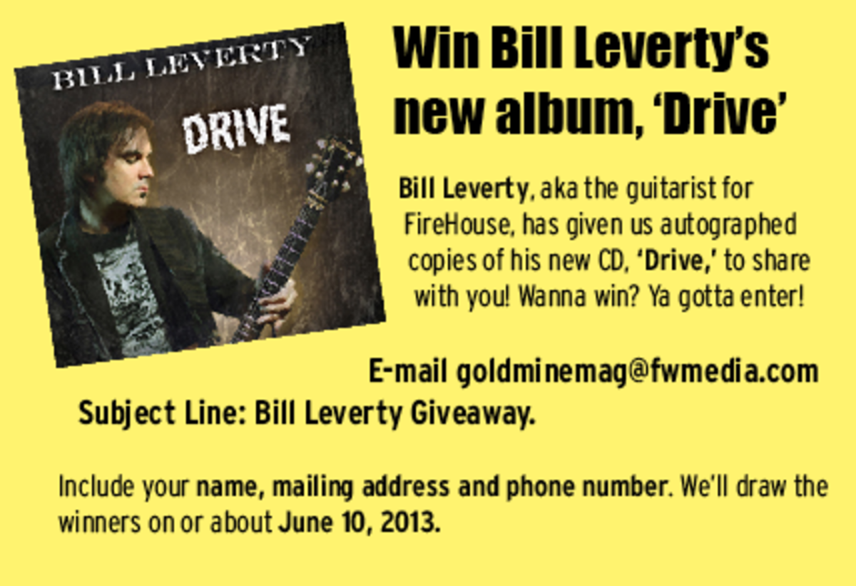 Bill Leverty Drive CD giveaway