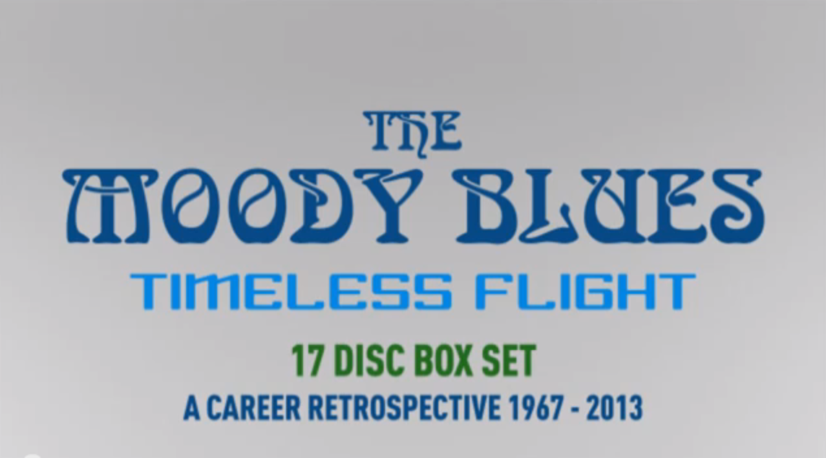 Moody Blues Timeless Flight Unboxing video