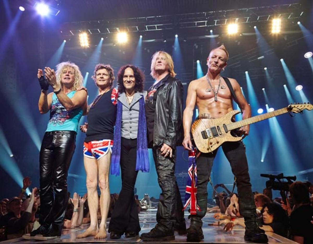 Def Leppard Viva Hysteria Las Vegas concert stills Knight Bilham Photography