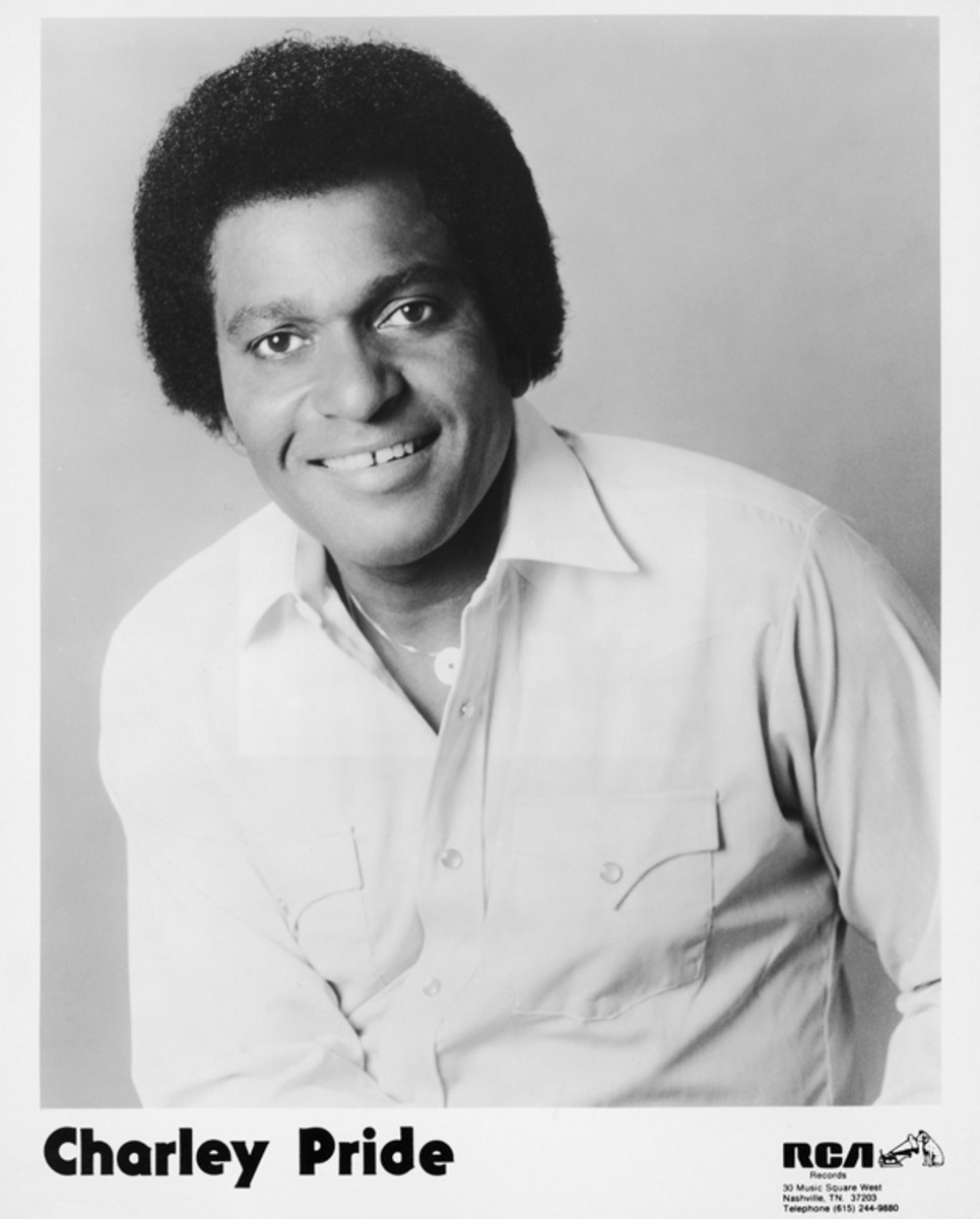 Country Charley Pride publicity photo courtesy RCA