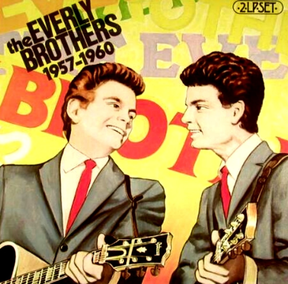 Everly Brothers 1957-60(521X)