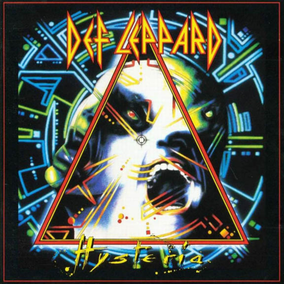 Def Leppard Hysterial album cover
