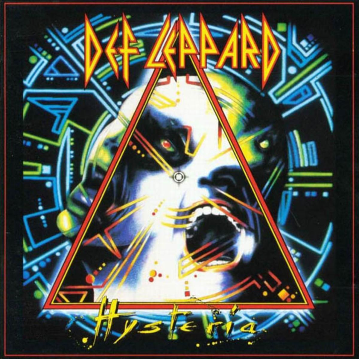 Def Leppard Hysterial album cover