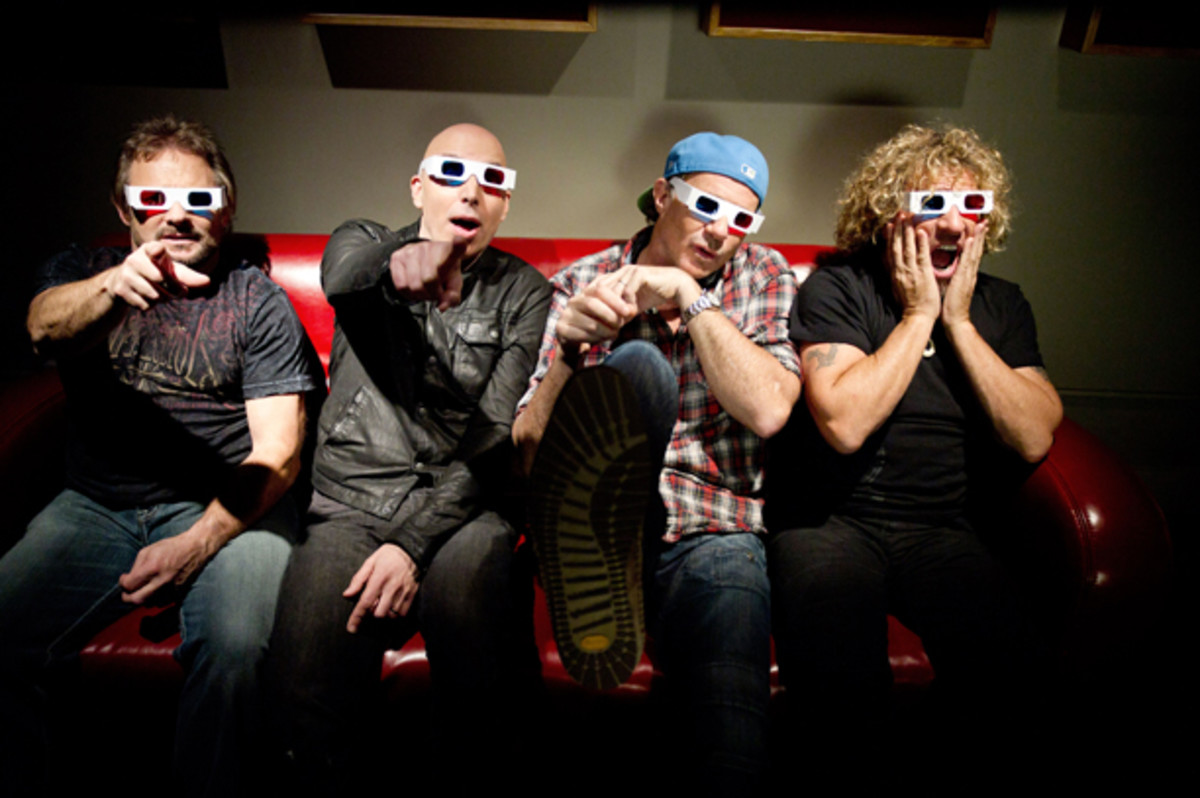 Chickenfoot is the super group brainchild of Van Halen alumnus Michael Anthony, guitarist Joe Satriani, Red Hot Chili Peppers Chad Smith and rock and roll wild child Sammy Hagar. Publicity photo courtesy Noble PR.