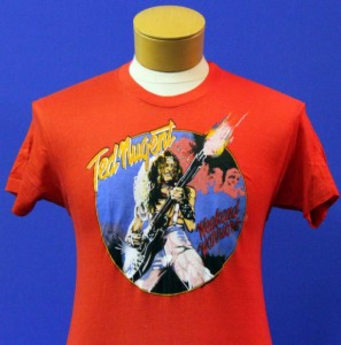 Ted Nugent vintage concert T-shirt