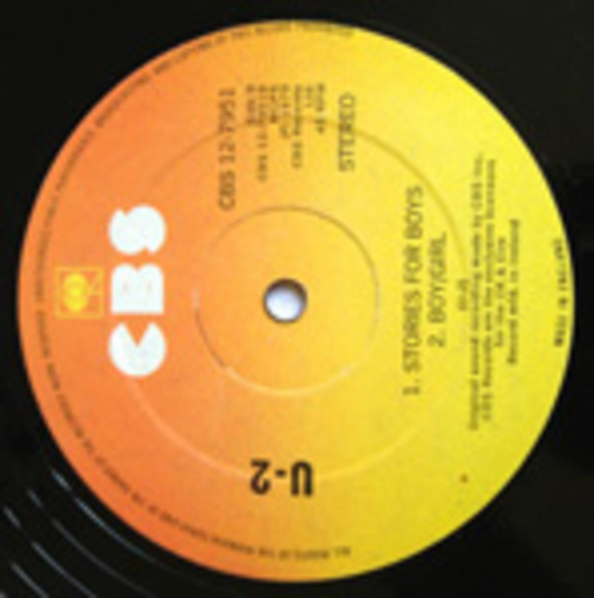 U2 Three CBS 12-inch