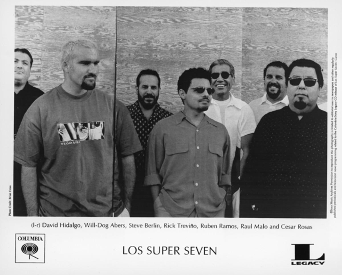 Los Super Seven publicity photo