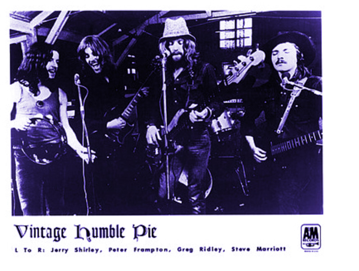 Humble Pie photo courtesy A&M records