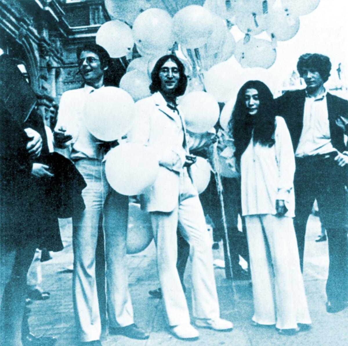 Plastic Ono Band publicity photo