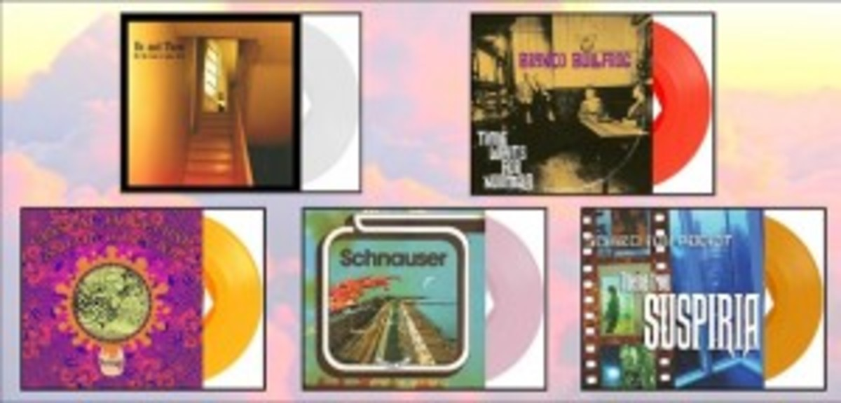 march 2014 covers and vinyl montage