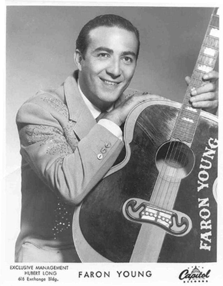 Faron Young Capitol Records publicity photo