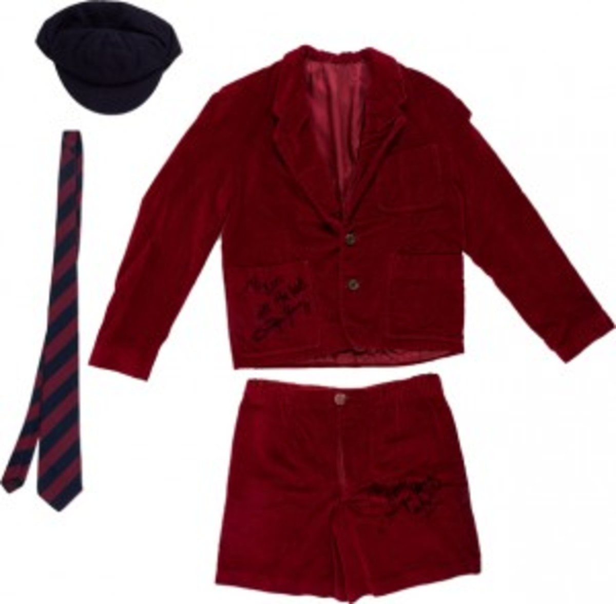 ACDC Angus Young shorts school uniform