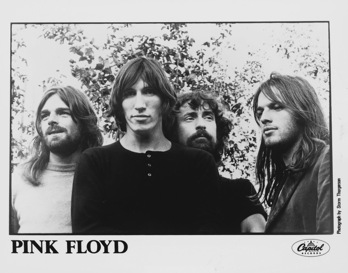 pink floyd publicity photo