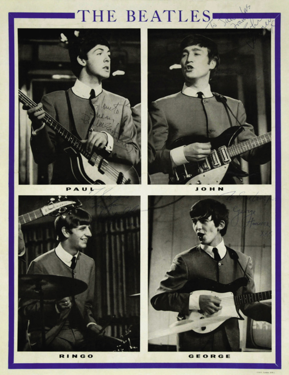 Beatles prototype poster Heritage Auctions