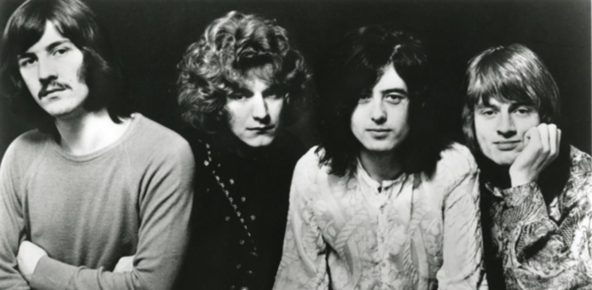 An early photo of Led Zeppelin. Rhino Media/Courtesy of Atlantic Records