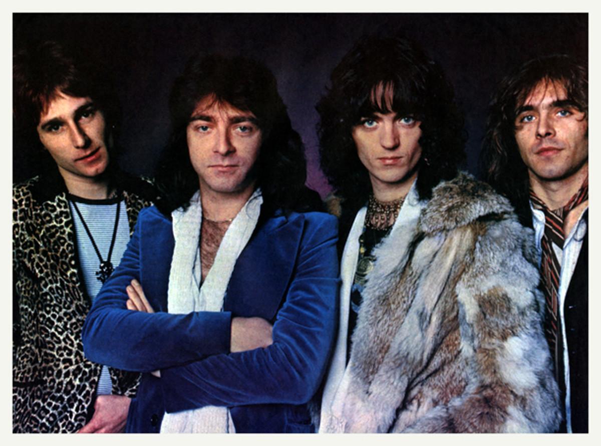 The Babys original lineup. Photo courtesy Mark Perkins collection.