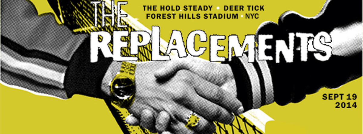 The Replacements shook off the cobwebs and played a storming set of much-loved alt-rock favorites at NYC's Forest Hills Stadium on Friday, September 19th.