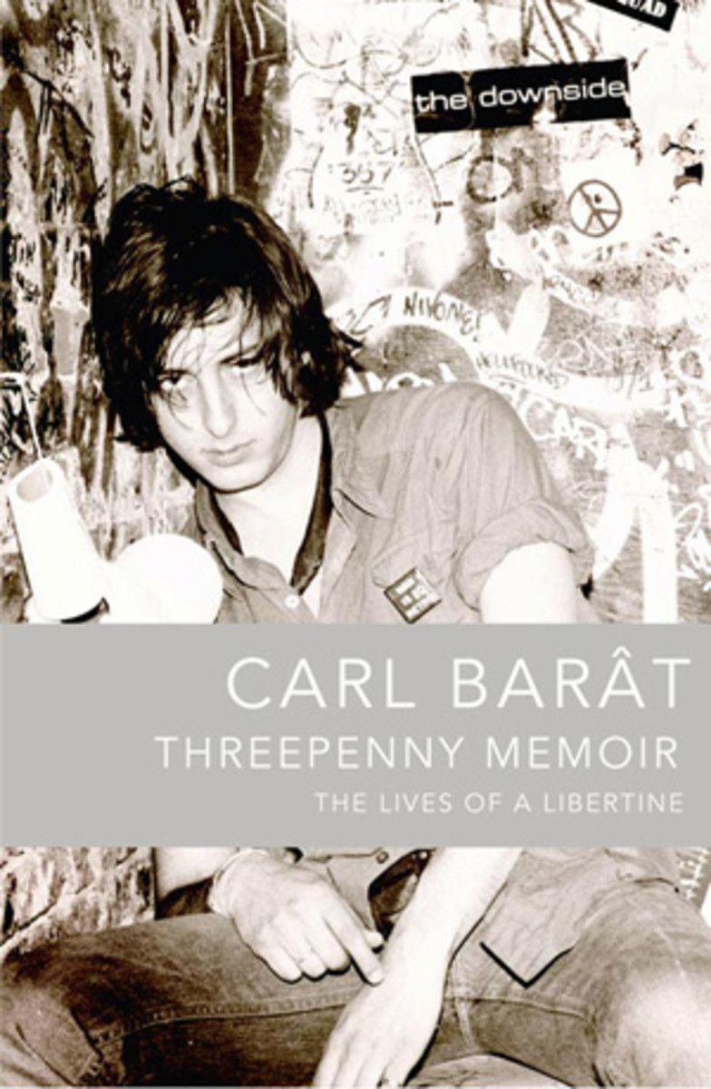 Carl Barât of The Libertines is releasing a memoir (the cover of which is pictured above) and a solo album within days of each other.
