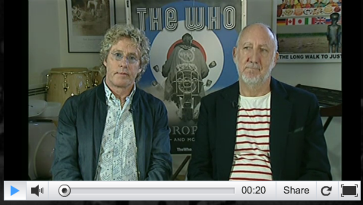 The Who Tour Announcement