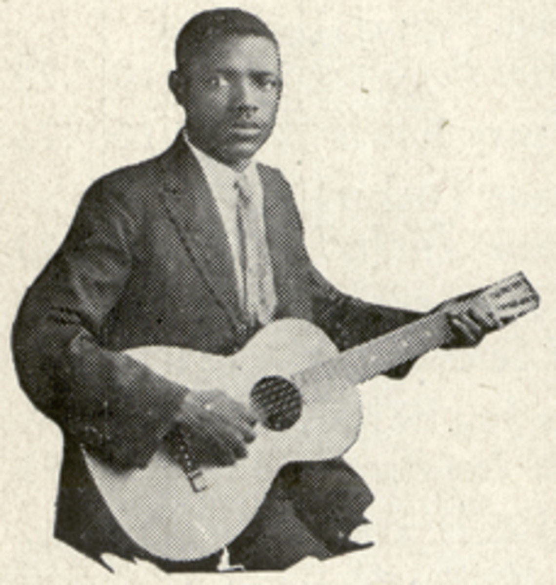 Furry Lewis. Image courtesy of Blues Images, a division of John Tefteller's World's Rarest Records