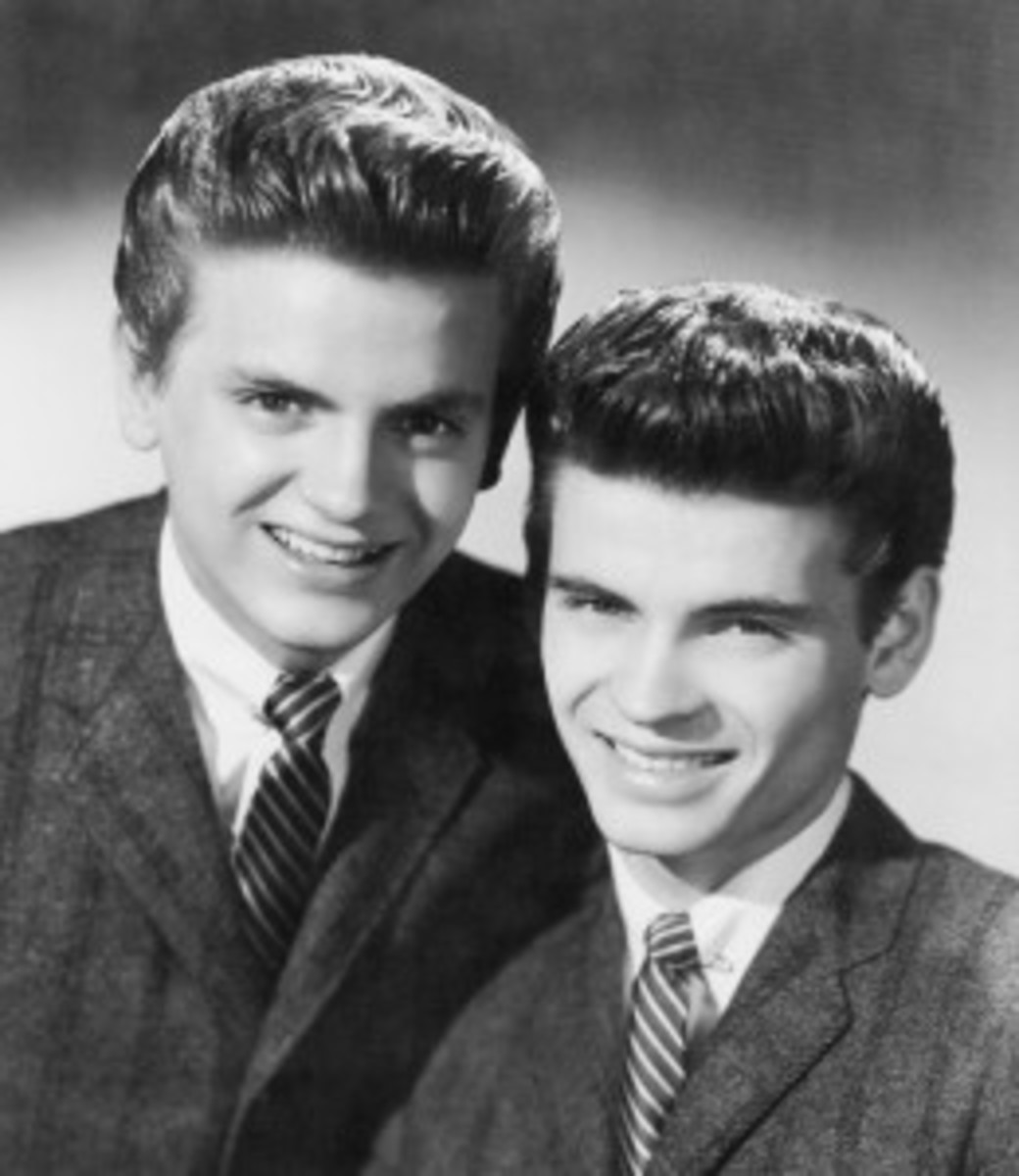 Everly Brothers Phil Everly Don Everly publicity photo