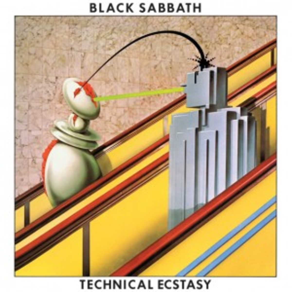 Black Sabbath Technical Ecstasy 2013 vinyl LP