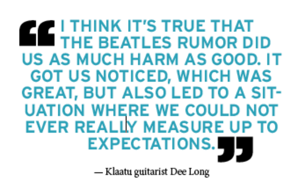 Klaatu pull quote