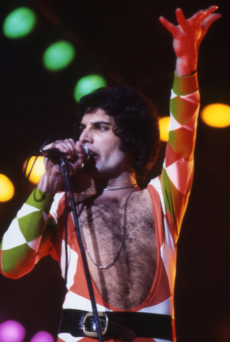 Freddie Mercury leotard