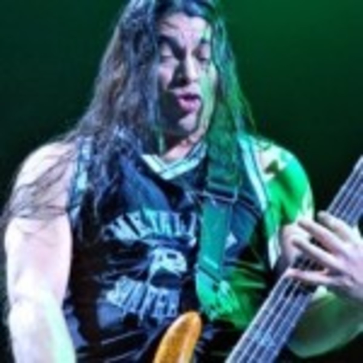 Metallica bassist Rob Trujillo (Photo by Chris M. Junior)