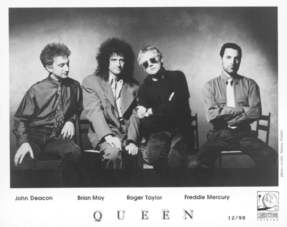 Queen December 1990