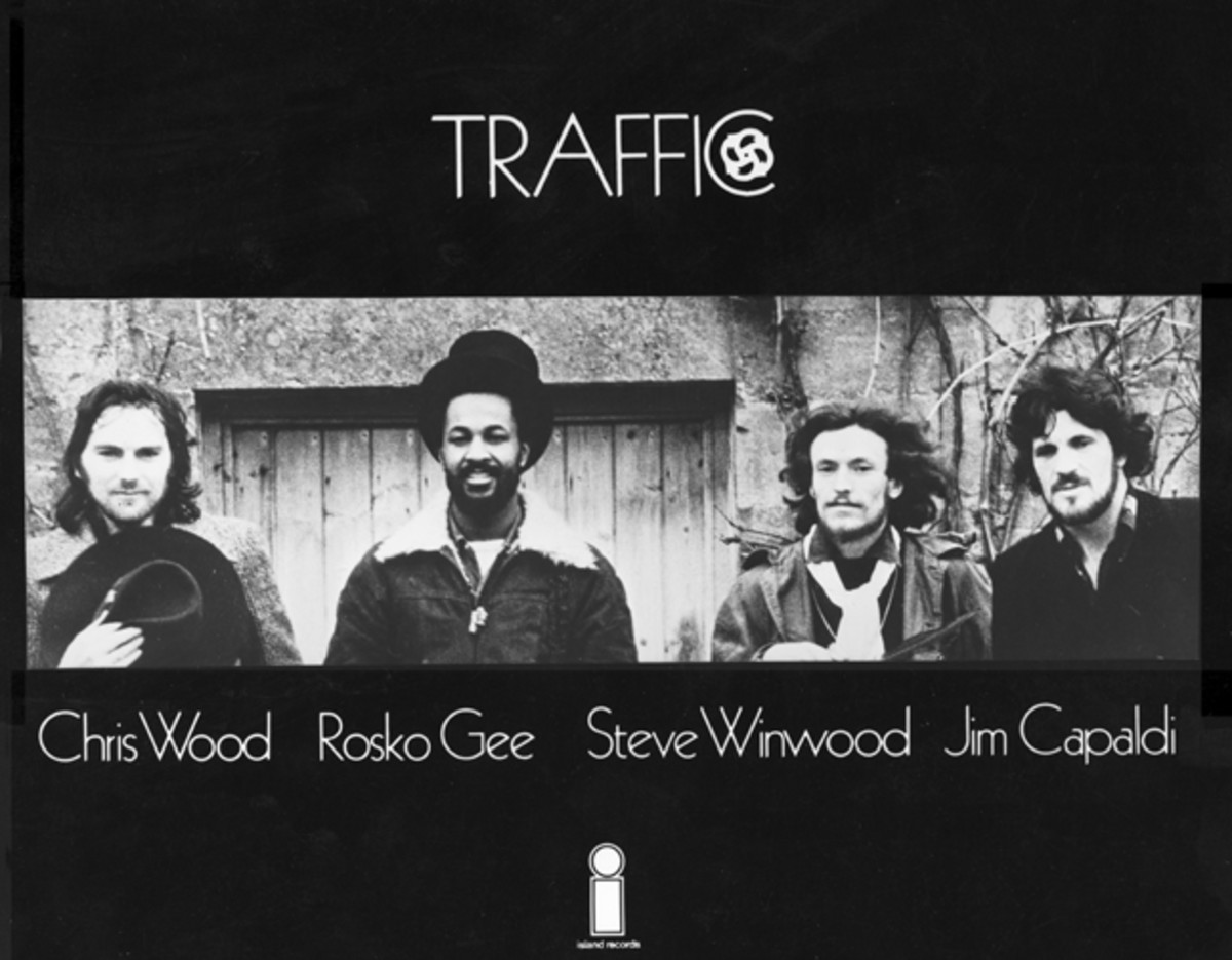 Traffic publicity photo by Island Records