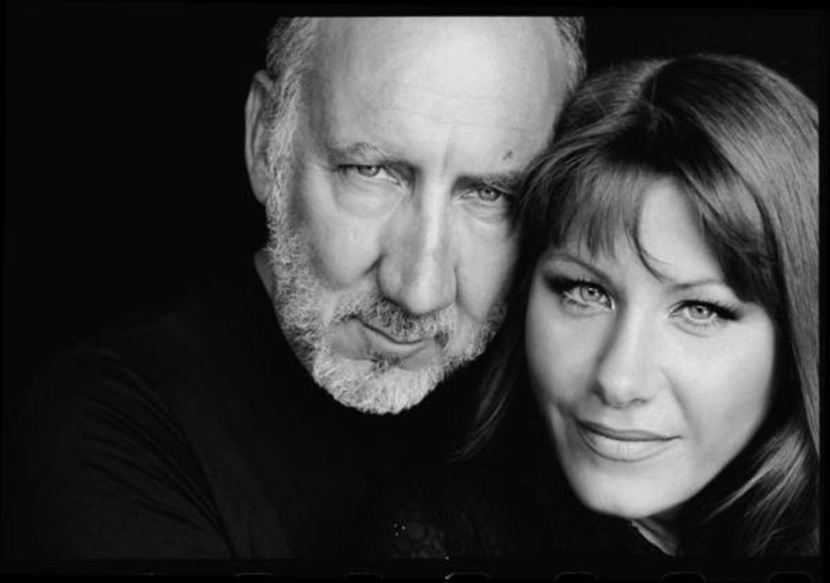 Pete Townshend, pictured with his partner Rachel Fuller, celebrated his 65th birthday on May 19th.