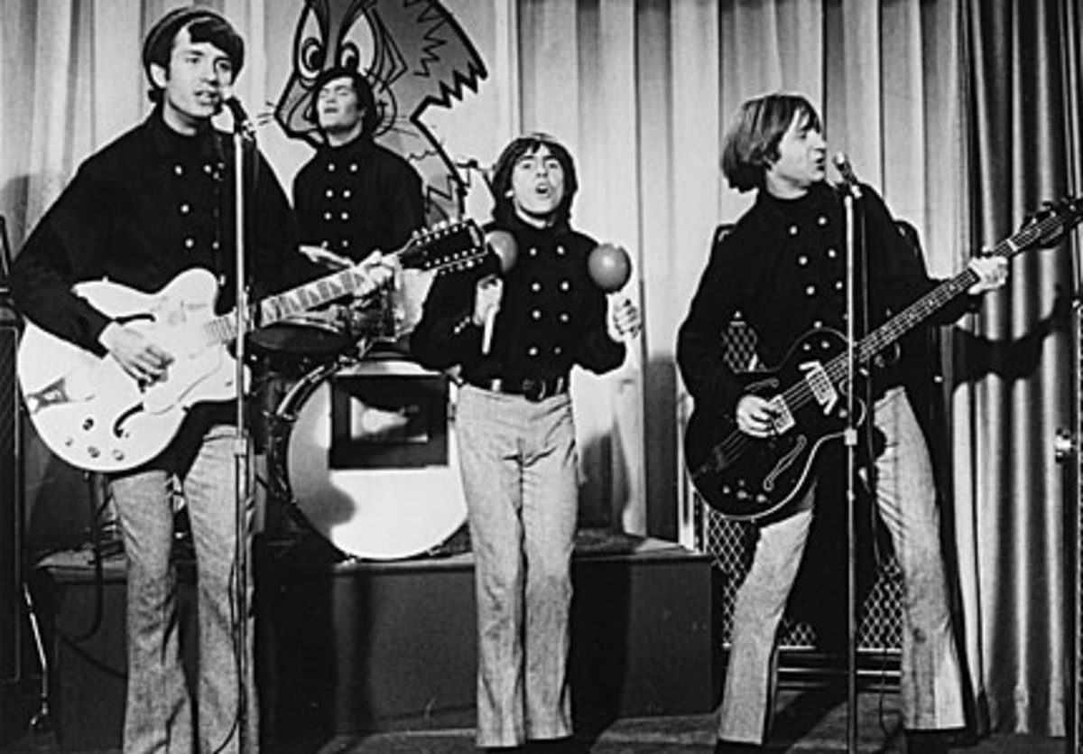 The Monkees perform