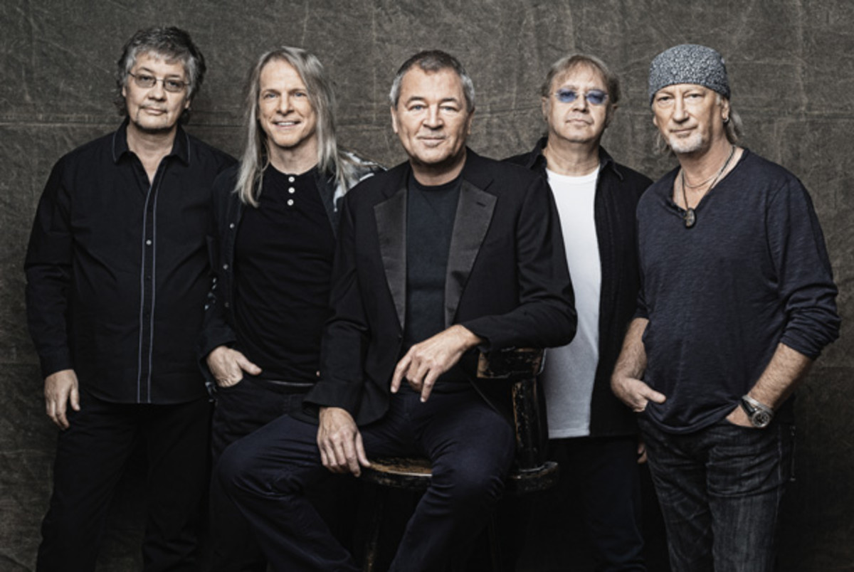 Deep Purple 2013 publicity photo
